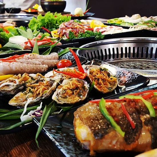 Đẳng Cấp Buffet Nướng Và Lẩu Hải sản Ăn Thả Ga - Galbi Buffet - Royal City MENU MỚI