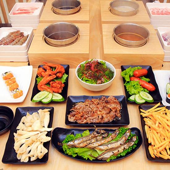 Buffet Lẩu Đúng Chuẩn Nhật Bản Tại Nhà Hàng On - Yasai Shabu Shabu - Buffet Tokyo 198k
