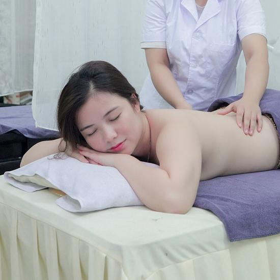 Massage Body đá nóng kết hợp chăm sóc da mặt chuyên sâu tại An Nhi Spa