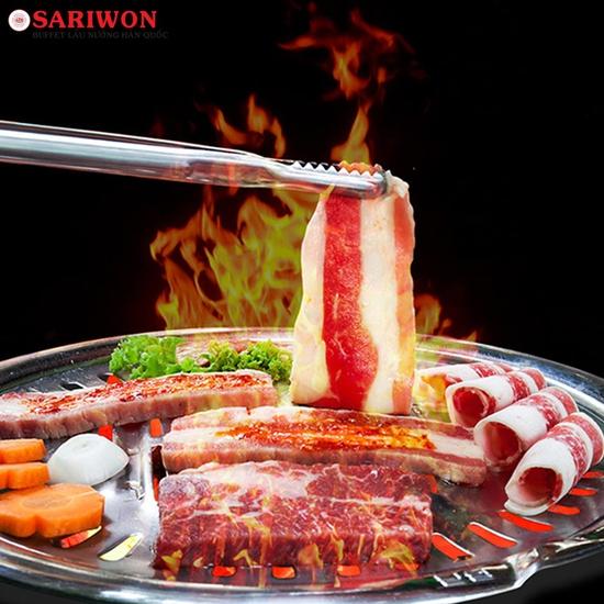 Buffet Nướng Hàn Quốc Cực Chất Tại Sariwon - VinCom Phạm Văn Đồng