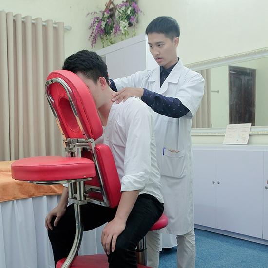Bấm huyệt điều trị Hội chứng Cổ Vai Gáy, Thắt lưng hông, thiểu năng tuần hoàn não tại Camellia Spa