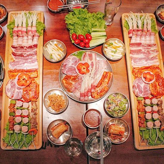 Ăn thả ga Buffet Lẩu Nướng Hàn Quốc tại nhà hàng Buk Buk 301 Tô Hiệu