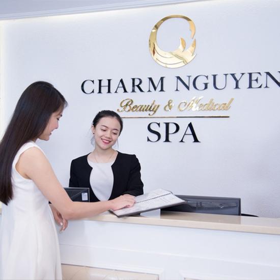 Bấm huyệt + Massage body thư giãn tại Spa 5 sao - Charm Nguyễn - Top 10 Thẩm Mỹ Viện Uy Tín 2018