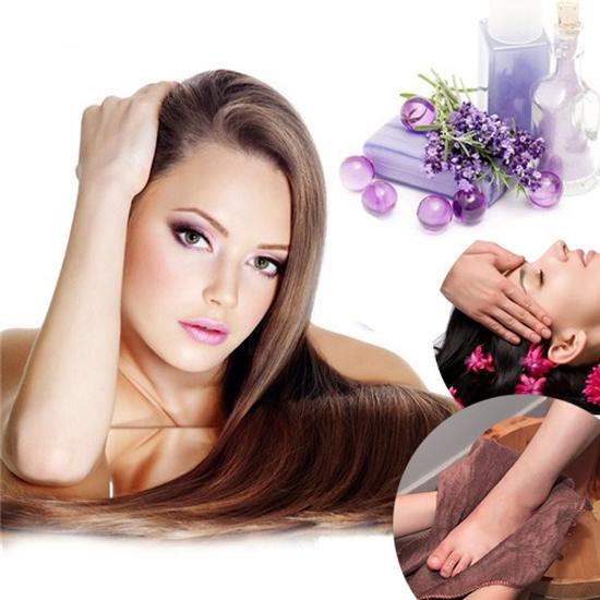 Gội Đầu Davines Ý + Massage đầu, cổ, vai, gáy + Massage Foot/Nail tay hoặc chân tại The Muse Spa