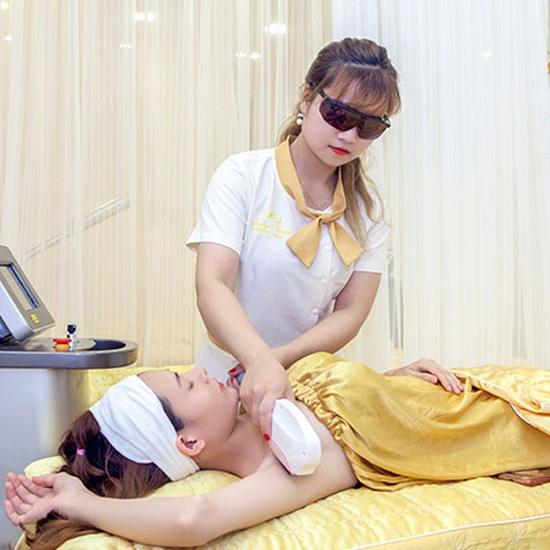 6 buổi triệt lông vĩnh viễn CN Diode Lazer cam kết hiệu quả 100%  tại Emily Trịnh Beauty & Spa