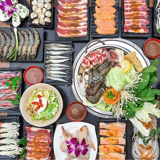 Buffet Nướng lẩu Nhật Bản ăn thả ga không lo về giá tại Nhà hàng Kochi BBQ