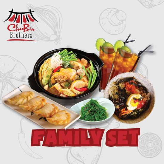 Tận hưởng hương vị ẩm thực Hàn Quốc với Family Set tại nhà hàng CHUBIN BROTHERS