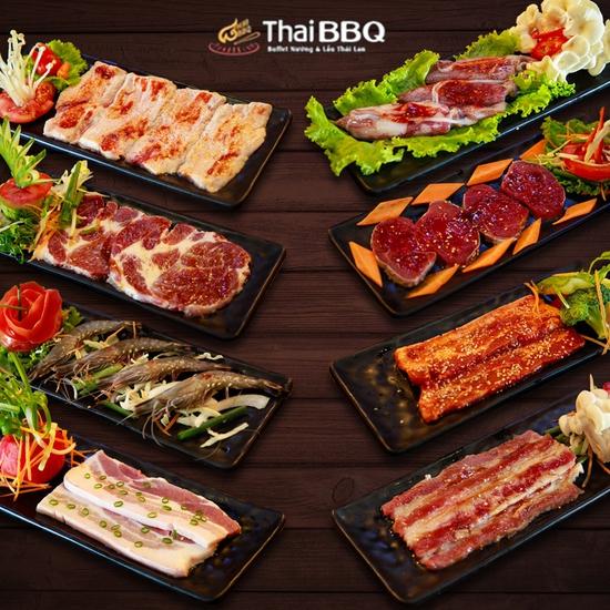 Thái BBQ Time City - Buffet Nướng Lẩu Hương Vị Thái Lan Menu 288K