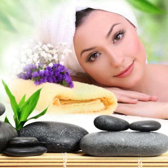 Xông hơi, massage body đá, chăm sóc da mặt AHA Spa