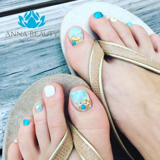 Combo Sửa + sơn móng tay và chân tại Anna Beauty Spa