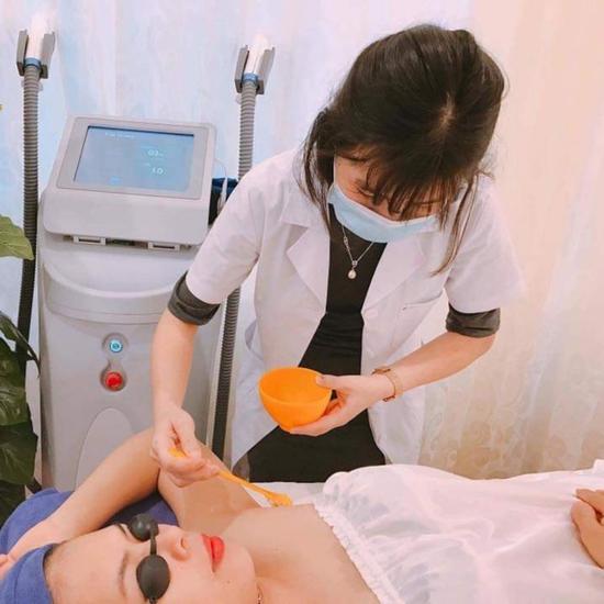Triệt lông công nghệ triệt lông OPT SHR mới 2019 tại Lotus Beauty - Cosmetics
