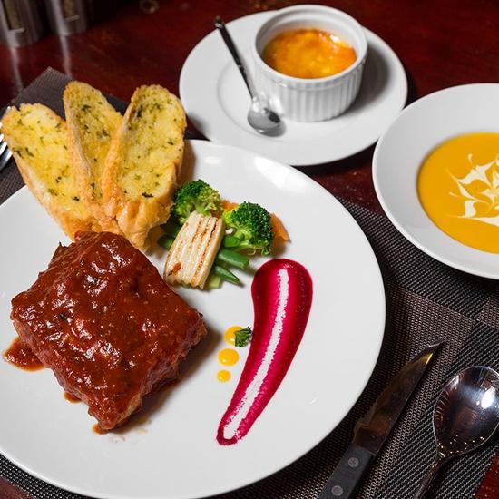 Combo Đẳng Cấp BBQ Ribs Cho 01 Người Tại Nhà Hàng Wine & Steak House Hồ Tây