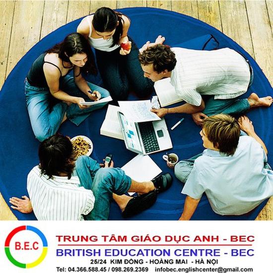 Khóa học giao tiếp thành thạo tiếng Anh tại BEC