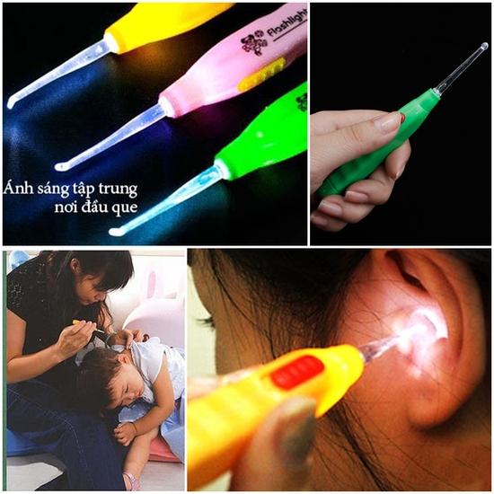 Combo 3 dụng cụ lấy ráy tai có đèn