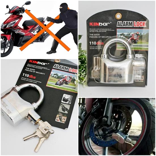 Khóa chống trộm xe máy Kinbar 110