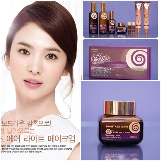 Bộ mỹ phẩm dưỡng da ốc sên Sonnet của Hàn Quốc - Chỉ 1.700.000đ/bộ