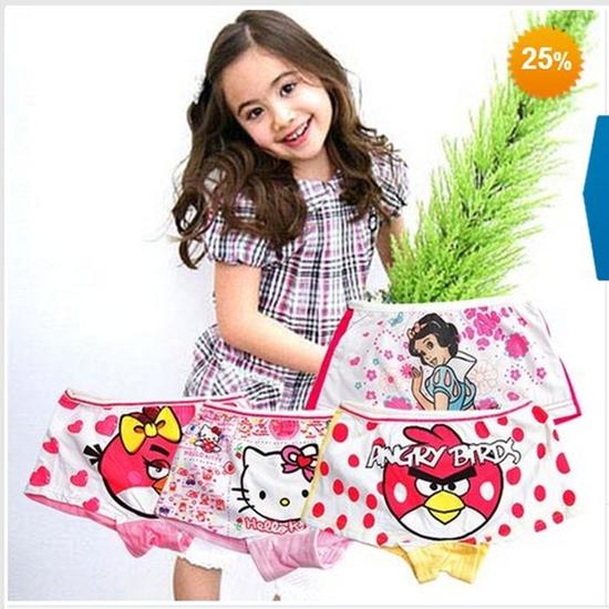 Combo 04 quần chip Short Disney cho bé gái - Chỉ 90.000/ 4 cái