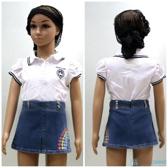 Váy zuýp bò cho bé gái từ 1 đến 3 tuổi - Giá chỉ 40.000đ/1 sản phẩm