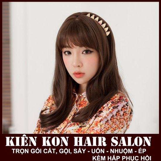 Gói làm tóc tại Kiên Kon Hair Salon