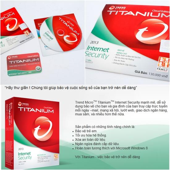 Phần mềm diệt virus Titanium
