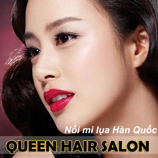 Nối mi lụa công nghệ Hàn Quốc tại Queen Hair Salon