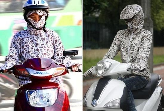 Áo chống nắng 02 lớp - Vừa là áo, vừa thay thế khẩu trang, găng tay, mũ - Bảo vệ bạn khỏi nắng mùa hè. Chỉ 130.000đ