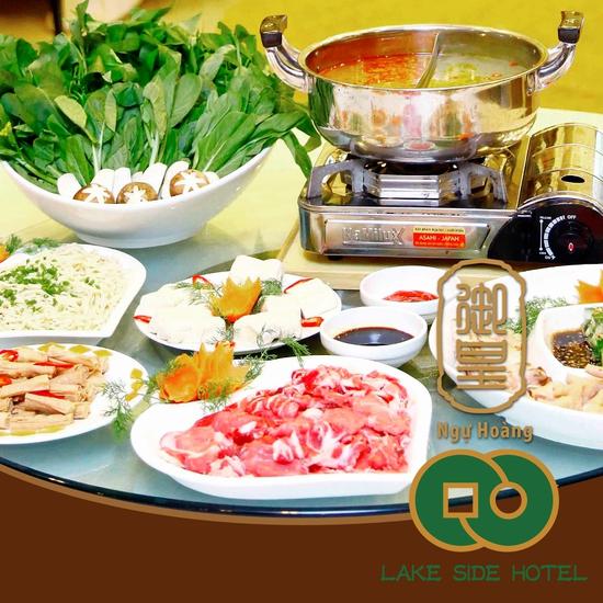 Set Lẩu bò kèm món nguội Trung Hoa 6 loại nước lẩu dành cho 4 người