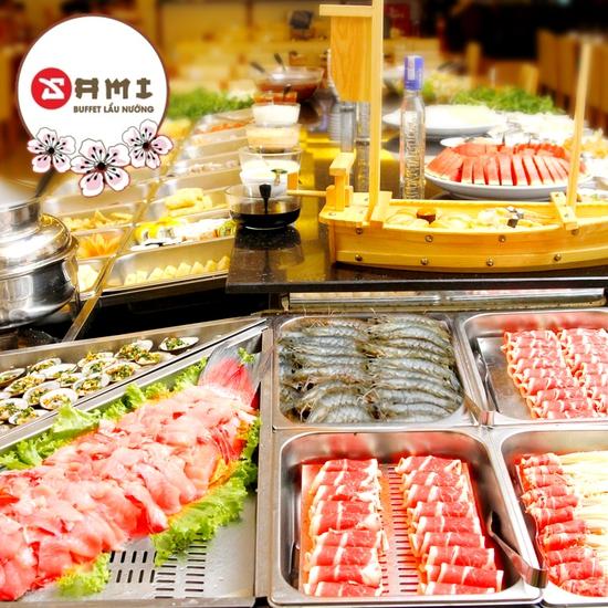 Tinh hoa ẩm thực Nhật Bản-Buffet lẩu nướng Sami