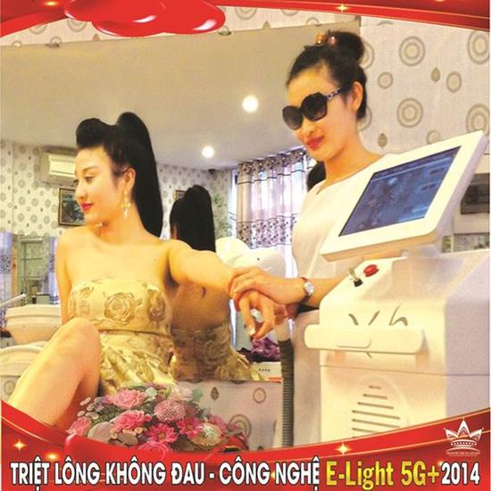 Triệt lông không đau Công nghệ Elight 5G+ 2014