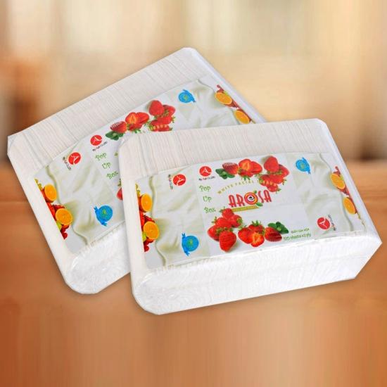 Khăn giấy Arosa gói 1000 tờ