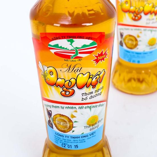 2 Chai mật ong Việt 650ml