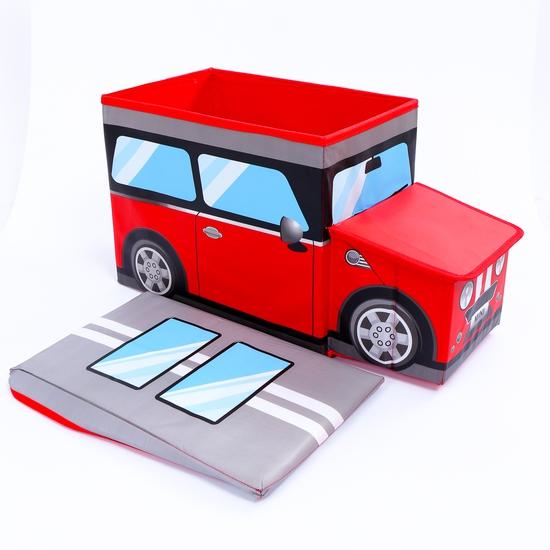 Ghế hộp đựng đồ hình ôtô ngộ nghĩnh
