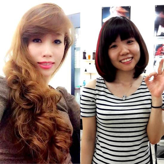 Trọn Gói làm tóc đẳng cấp Viện tóc Hà An Cây kéo vàngSG