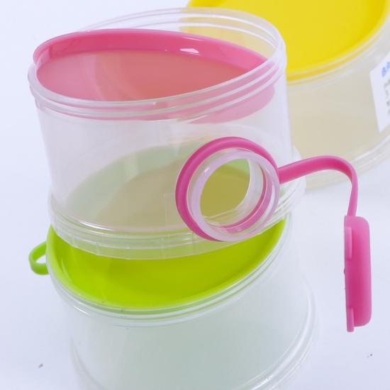 Hộp chia sữa 3 ngăn di động cho bé yêu
