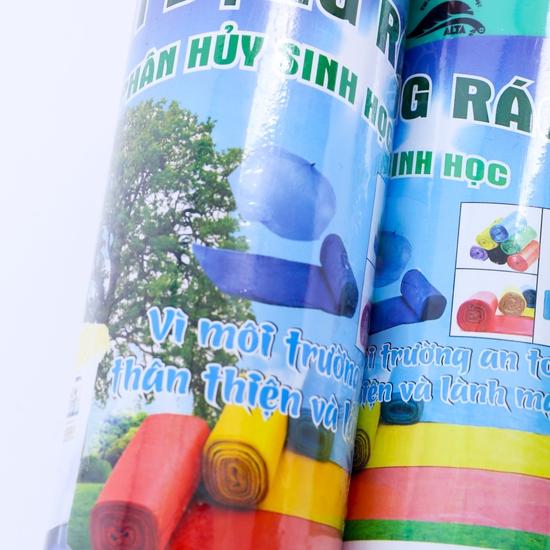 3 cuộn túi đựng rác tự hủy sinh học Việt An