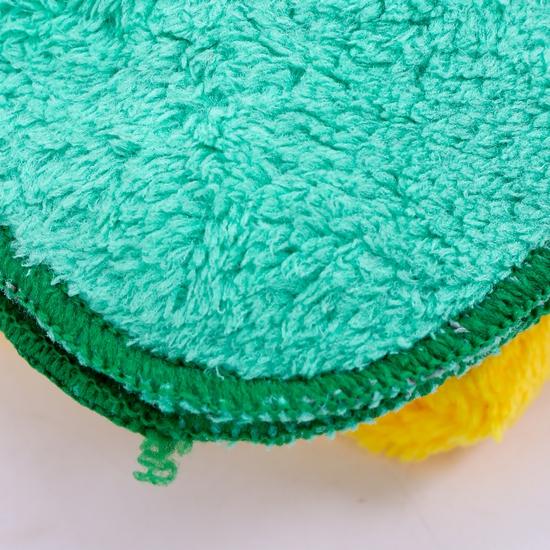 Combo 5 khăn mặt lông cừu mềm mịn cao cấp cho bé