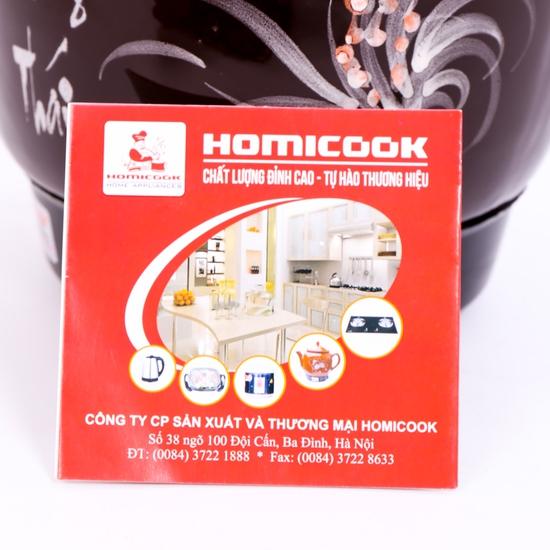 Ấm sắc thuốc tự động Homicook 3.3L