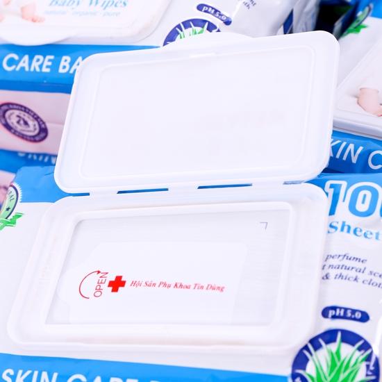 10 gói khăn ướt Baby Health chiết xuất lô hội
