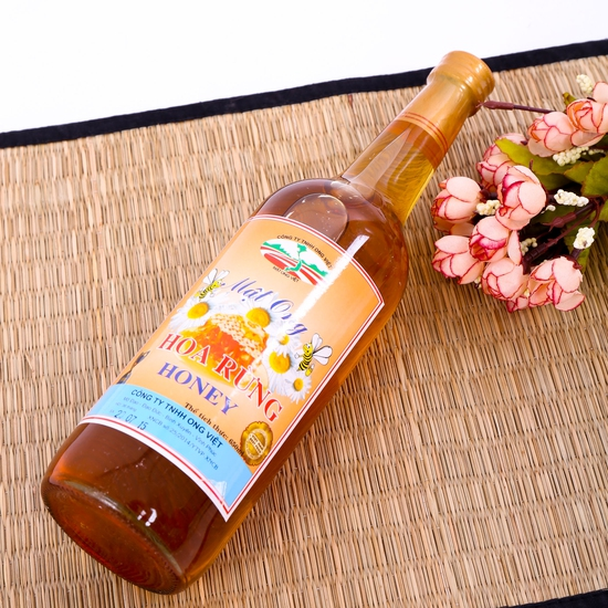 Mật ong hoa rừng thơm ngon - Ong Việt 650 ml