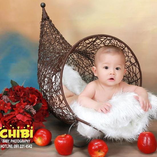 Gói chụp ảnh cho bé cực hấp dẫn tại Chibi Studio