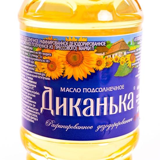 4 lít Dầu ăn hướng dương cao cấp Dykanka nhập khẩu