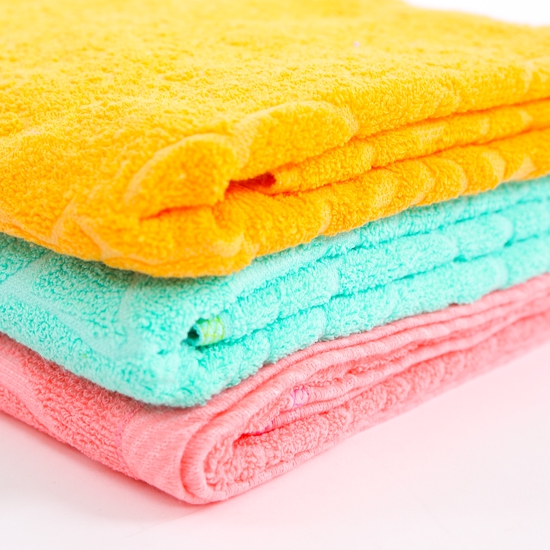Combo 2 khăn bông tắm cỡ lớn 60 x 120cm