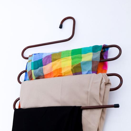 Combo 2 móc treo quần và khăn 5 tầng thông minh