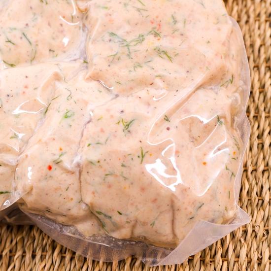 Đặc sản 1kg Chả cá Ba Sa Làng Việt Xanh