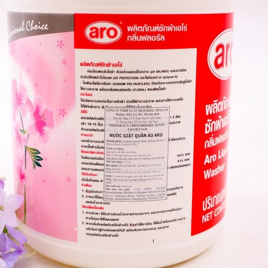 Nước giặt quần áo Aro 3500ml - nhập khẩu Thái Lan