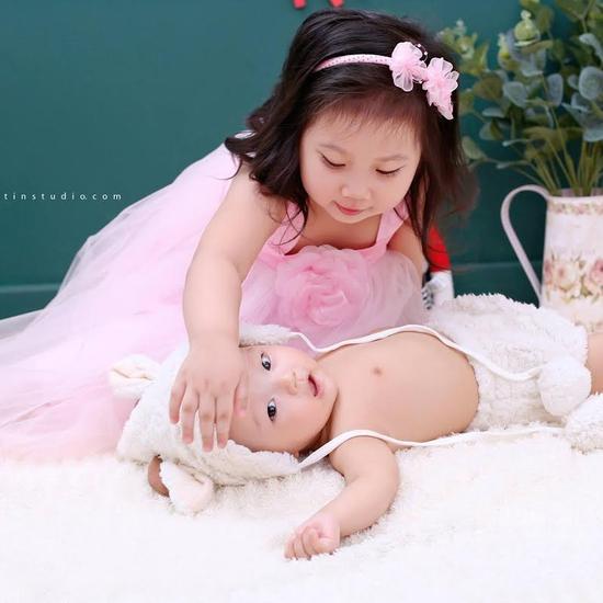 Gói chụp ảnh cho bé & gia đình tại Suitin Studio