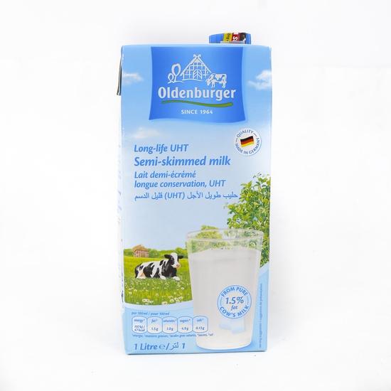 6 hộp sữa tươi tách kem Oldenburger - NK Đức