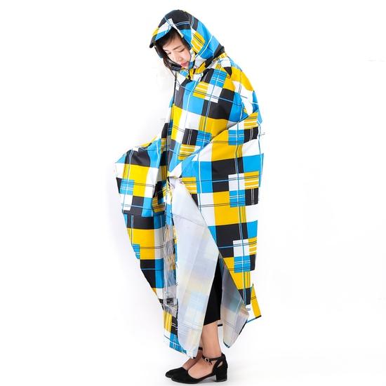 Áo mưa cánh dơi siêu nhẹ có họa tiết Tumi