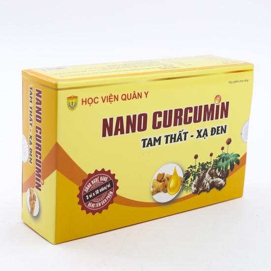 Nano Curcumin Tam Thất - Xạ đen Học viện Quân Y