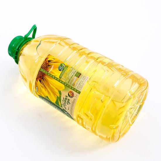 3 lít dầu hướng dương Organic Sloboda - NK Nga